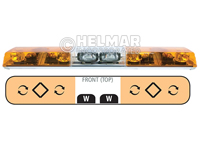 6483010<br>LIGHTBAR (ROTATOR/AMBER)
