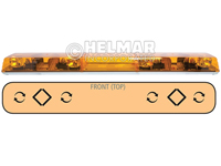 6543002<br>LIGHTBAR (ROTATOR/AMBER)