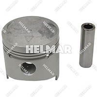 MD009591 PISTON & PIN (.50MM)