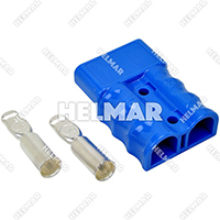 AM6326G1 CONNECTOR W/CONTACTS (SB175 1/0 Blue)