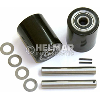 GWK-TM-LW<br>Load Wheel Kit, Incl. (2) Load Roller Assy W/ Bearings, Axles & Fasteners