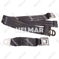 "LB-110-BLACK LAP BELT (110 BLACK"")"