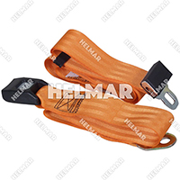"Lb-72-Orange Lap Belt Orange (72"")"