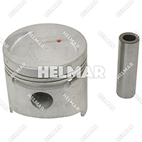 MD009593 PISTON & PIN SET (1.00MM)