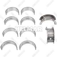 MD040683 MAIN BEARING SET (.25MM)
