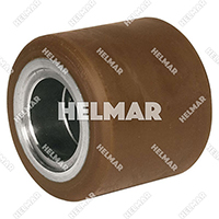 Forklift & Lift Truck Supplies - Wh-434 Polyurethane Wheel