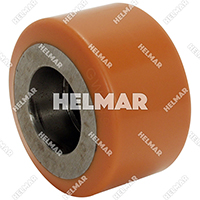 Forklift & Lift Truck Supplies - Wh-446-95D Polyurethane Wheel (95D)