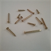 BRASS ESCUTCHEON PIN                    #14 X 1-1/4