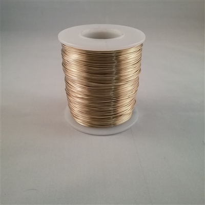 BRASS SOFT WIRE        28 GA  .0126  1#SPOOL