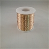 "RED BRASS SOFT WIRE     24 GA  .020""  1#SPOOL"
