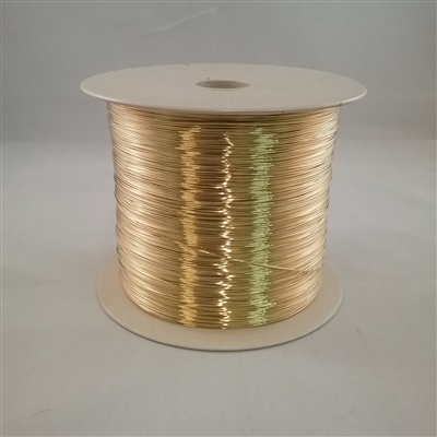 BRASS SOFT WIRE        20 GA  .032  5# SPOOL