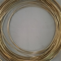 BRASS SOFT WIRE        18 GA  .040 DIA