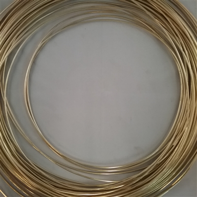 BRASS SOFT WIRE         6 GA.  .162 DIA