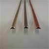 BRASS HALF ROUND WIRE        .160 X .080  SOFT
