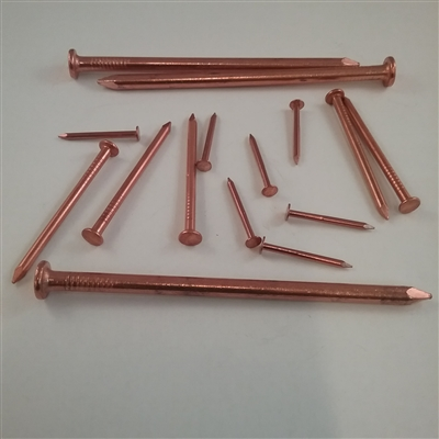 COPPER COMMON NAIL                      6D #11 X 2