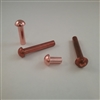 COPPER ROUND RIVET                      3/16 X 1