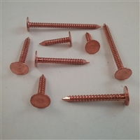 COPPER SLATING NAIL                2D #11 X 1  Ring Shank