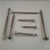 "STAINLESS DECK SCREW  #10 X 2-1/2"" Square"
