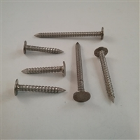 SS ROOFING NAIL 2D #10 X 1 Ring Shank
