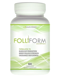 FolliForm DHT (Dihydrotestosterone) Blocker from VH Nutrition.