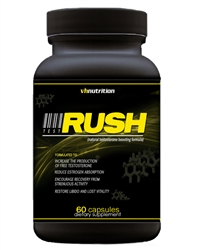 TestRush Testosterone Booster from VH Nutrition | Voted the Best Natural Testosterone Booster