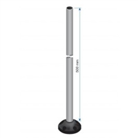 IKAM04 - ALTECH - 500mm Aluminum pole with Base, (used with IFAB01)
