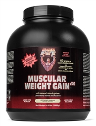Muscular Weight Gain 3 Vanilla Flavor 4.4Lbs