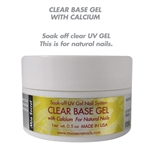 MIA SECRET CLEAR BASE GEL WITH CALCIUM 0.5oz