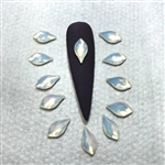 2205 Swarovski FLAME White Opal 10mm / 6pcs