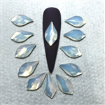 2205 Swarovski Flame White Opal 14mm 6pcs