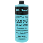 artificial nail remover, gel and acrylic mia secret, liquido removedor de uñas artificiales de gel o acrilicas.