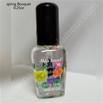 Mia Secret Nails Cuticle Oil SPRING BOUQUET .25 oz