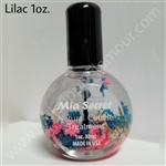 MIA SECRET NAILS 1 oz LILAC CUTICLE OIL