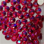 Crystals ss8 ( red AB ) 144 pcs # 8