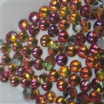 Crystals ( red rainbow ) 144 pcs # 6