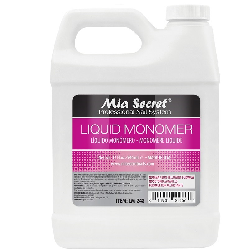 MIA SECRET NAILS 32 fl. oz LIQUID MONOMER
