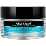 Mia Secret Clear Acrylic Powder 1/2 oz
