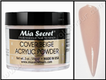 Mia Secret COVER BEIGE Acrylic Powder 2 oz.