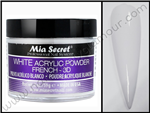 Mia secret - WHITE 2oz ACRYLIC POWDER