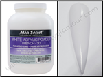 Mia Secret - 5 Lbs White Acrylic Powder