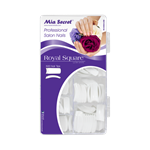 MIA SECRET NAILS ROYAL SQUARE 500 TIPS IN ACRYLIC BOX (ULTRA WHITE)