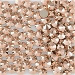 Swarovski ROSE GOLD ss9 / 100pcs