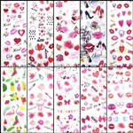 VALENTINE'S Foil Transfer set of 10 designs