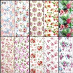ROSES Foil Transfer set of 10 designs