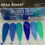MIA SECRET BLUE LOVERS COLLECTION 6PC.