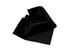 Black Microfiber Lens Cloth