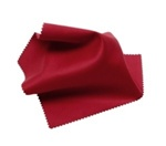 Red Microfiber Silky Knit Lens Cloths