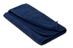 Premium Quality Black Microfiber Drying Terry Towel 400gsm