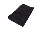 Premium Black Microfiber Towels in Bulk