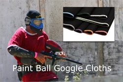 Microfiber Paintball Goggle Cloths
